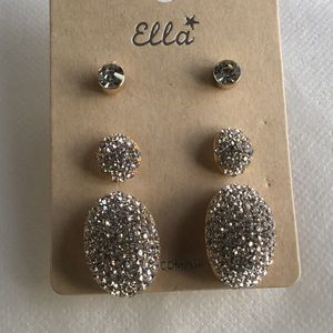 3 Pair of Earrings